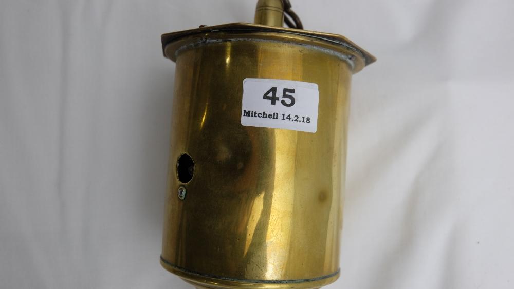 "Lot 45 - Antique Brass ""Salters"" Meat Spit"