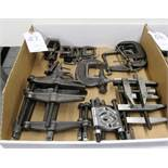 Lot Assorted C- Clamps
