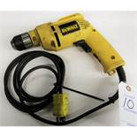 "3/8"" DeWalt DW106 VSR Heavy Duty Variable-Speed Reversing Drill"