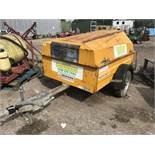 SINGLE AXLED TOWED FUEL BOWSER