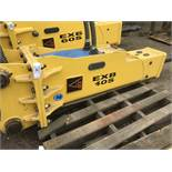Abex EXB40S breaker, little used, fits 13tonne excavator, 85mm chisel