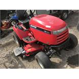 """SNAPPER 4WD TRACTOR C/W REAR LINKAGE 54"""" DECK When tested was seen to run and drive"""