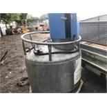 950 Litre steel twin walled diesel tank c/w pump and hose