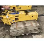 Abex EXB30S breaker, little used, fits 8tonne excavator, 75mm chisel