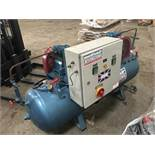 TWIN MOTORED WORKSHOP COMPRESSOR, SOURCED FROM COMPANY LIQUIDATION
