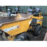 TEREX HIGH TIP DUMPER, YR2001, SN: SLBDRPOOE106HP185 When tested was seen to run and drive