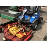 New Holland MC35 out-front rotary mower SN: 20277 When tested was seen to run and drive