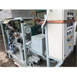 70Kva Open generator set, low hours, previously used on standby only, direct from major company