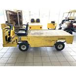 2016 COLUMBIA MAINTENANCE CART, MOD: BC3-L-36, 36-VOLT, ON-BOARD CHARGER, 472 HOURS, RUNS & OPERATES