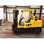 2014 HYSTER 12,000-LB. CAPACITY FORKLIFT, MODEL: S120FT, S/N: H004V03646M, LPG, SOLID TREADED TIRES,