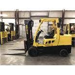 2016 HYSTER 12,000-LB. CAPACITY FORKLIFT, MODEL: S120FT, S/N: J004V02371P, LPG, , LEVER SHIFT