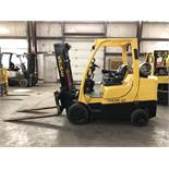 "2013 HYSTER 8,000-LB. CAPACITY FORKLIFT, MODEL: S80FT, LPG, MONOTROL, 121"" Lift, Sideshift"