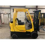 2013 HYSTER 5,000-LB. CAPACITY FORKLIFT, MODEL: S50FT, S/N: F187V25241L, LPG, LEVER SHIFT, 6,149 HRS