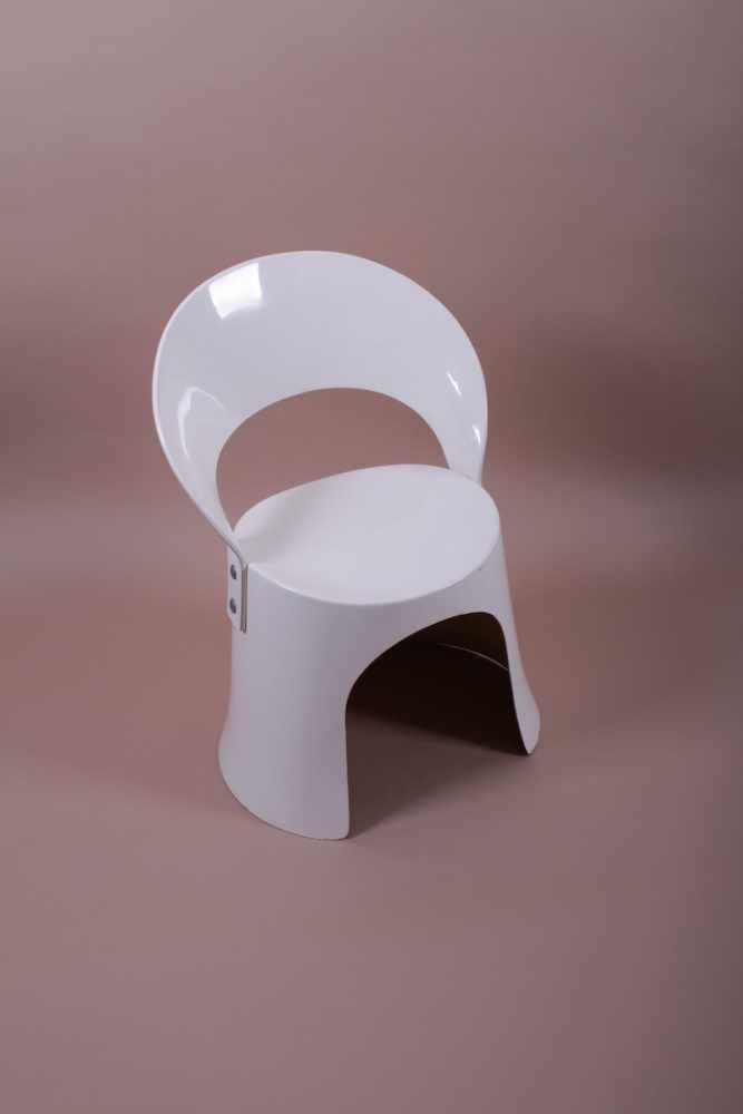 Designer Stuhl Vermutlich ein Prototyp aus den frühen 60er Jahren, Designer unbekannt, Glasfaser-
