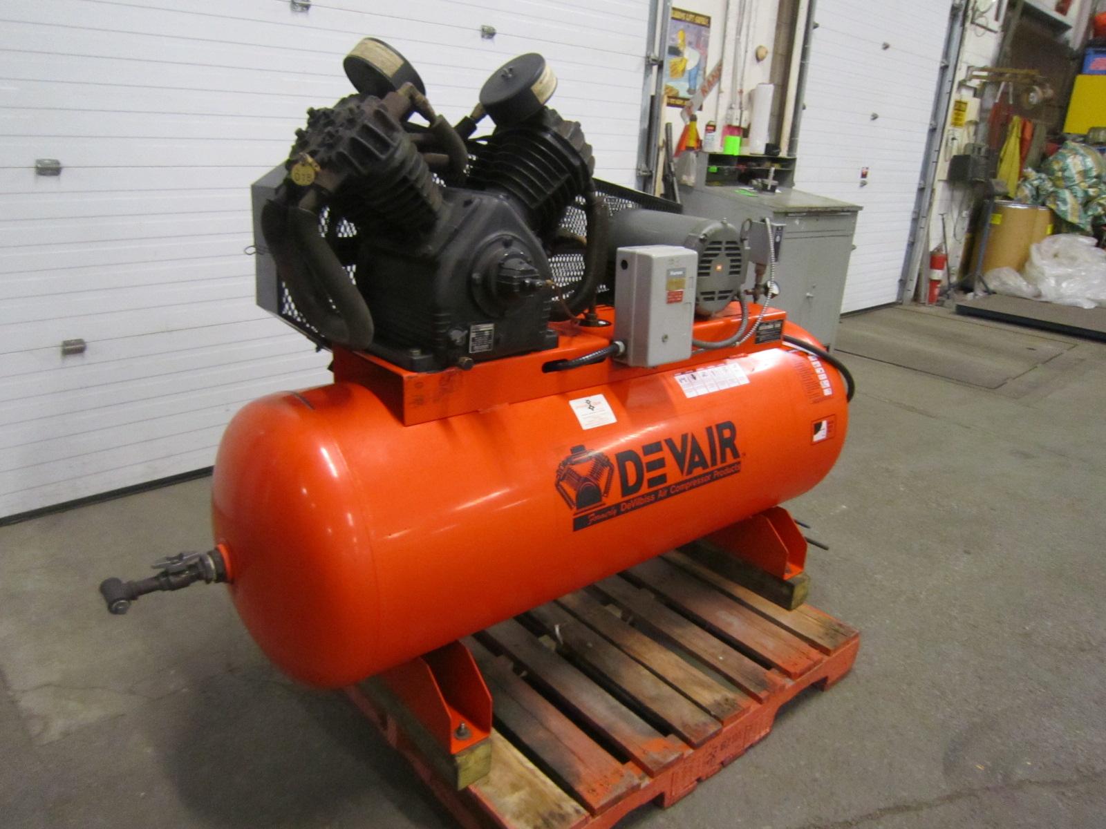 Devair Devilbiss 10HP Air Compressor model 447