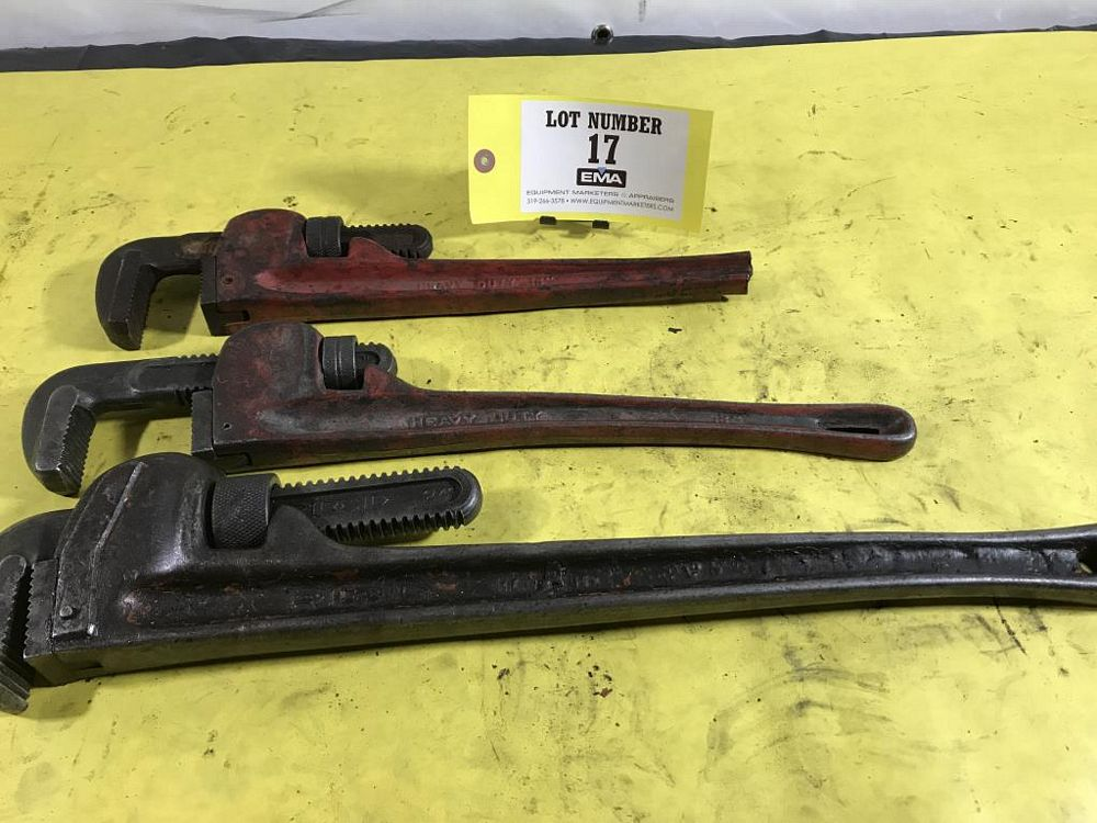 Lot 17 - Pipe Wrenches