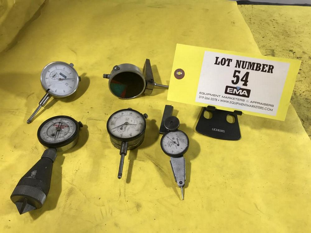 Lot 54 - Dial Indicators