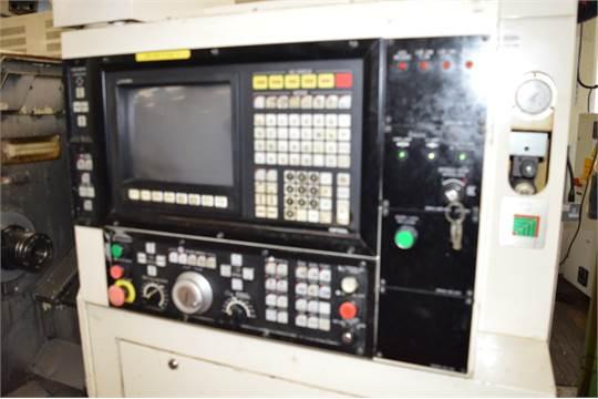 Okuma LB15 II-M CNC lathe Serial no  0605 1310 Max RPM: 4,500 X axis