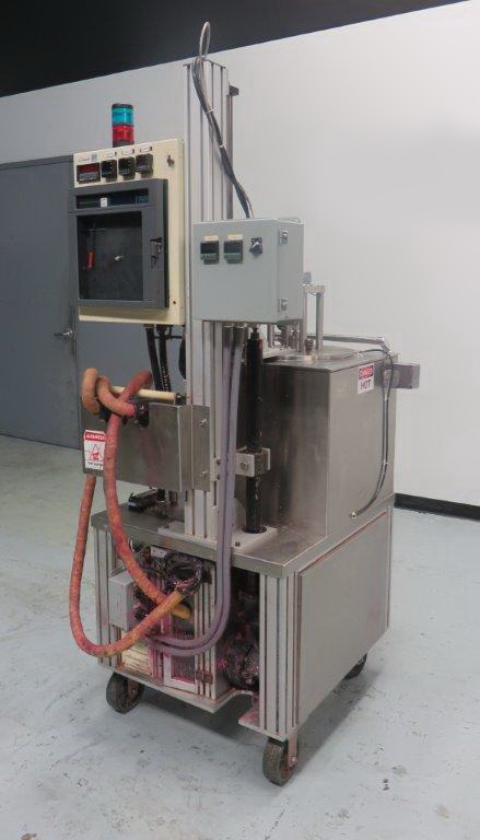 """Cavalla type"" (Cherry Burrell) Electrically heated, portable, jacketed, mixing and filling Kettle - Image 11 of 18"
