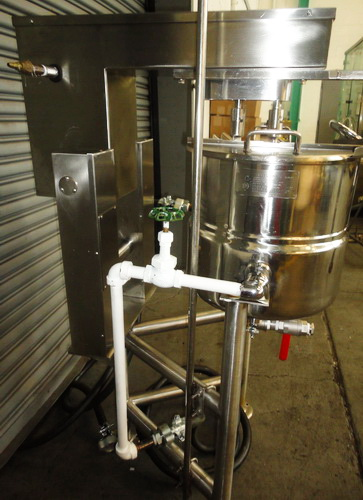 Groen 10 Gallons (40 Quarts) type 316SS SS Jacketed Double Motion Scraper Kettle - Image 2 of 10