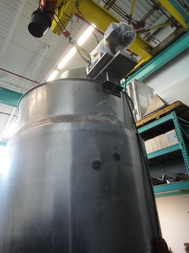 Lee 1,500 Gallon SS Hemispherical Double Motion Scraper Jacketed Kettle - Image 6 of 8