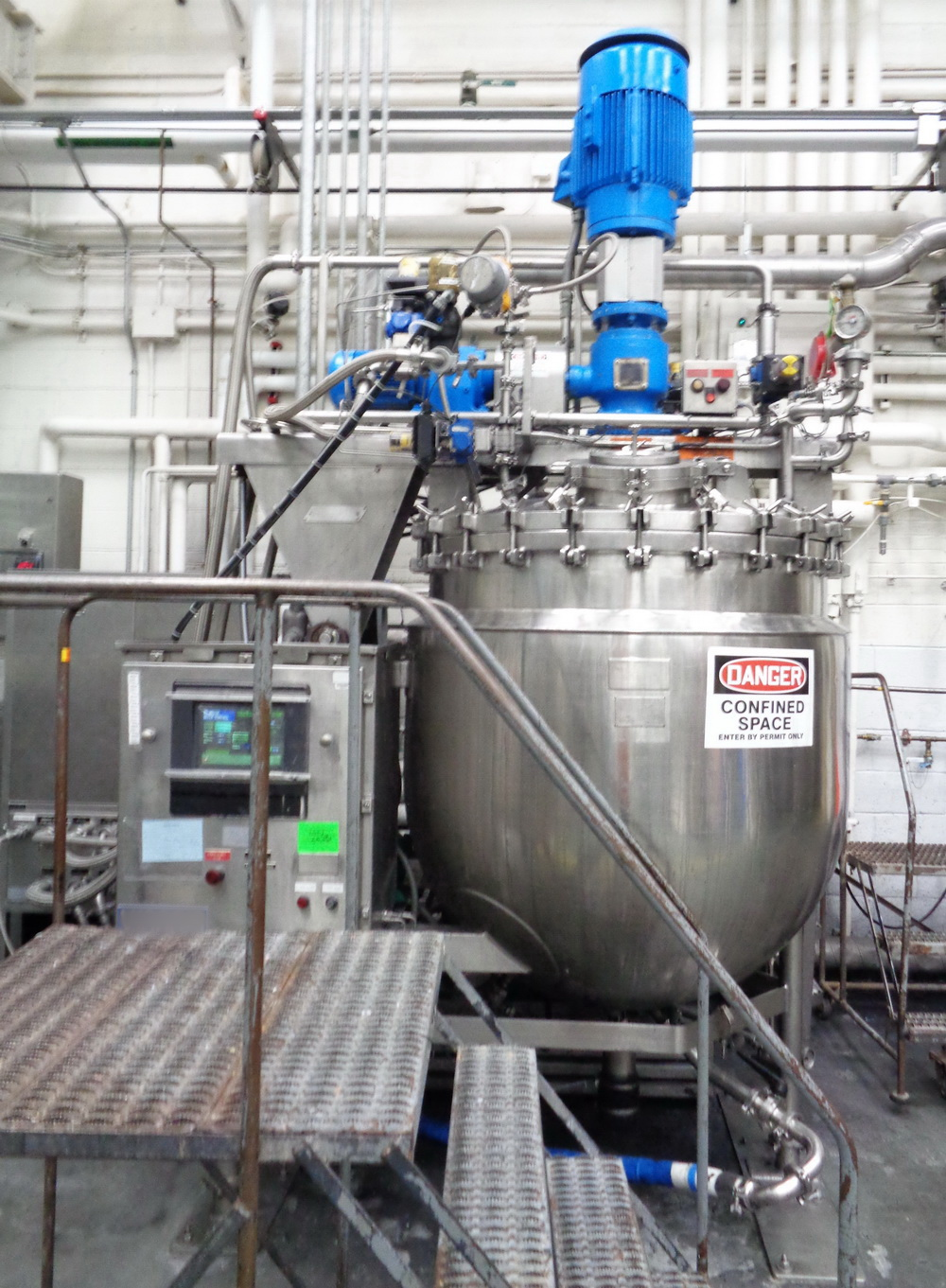 """Greerco/Gifford Wood 1,000 Liter (250 gal) 316 SS Jacketed Triple Motion """"Agi-Mix"""" Kettle/Reactor - Image 2 of 27"""