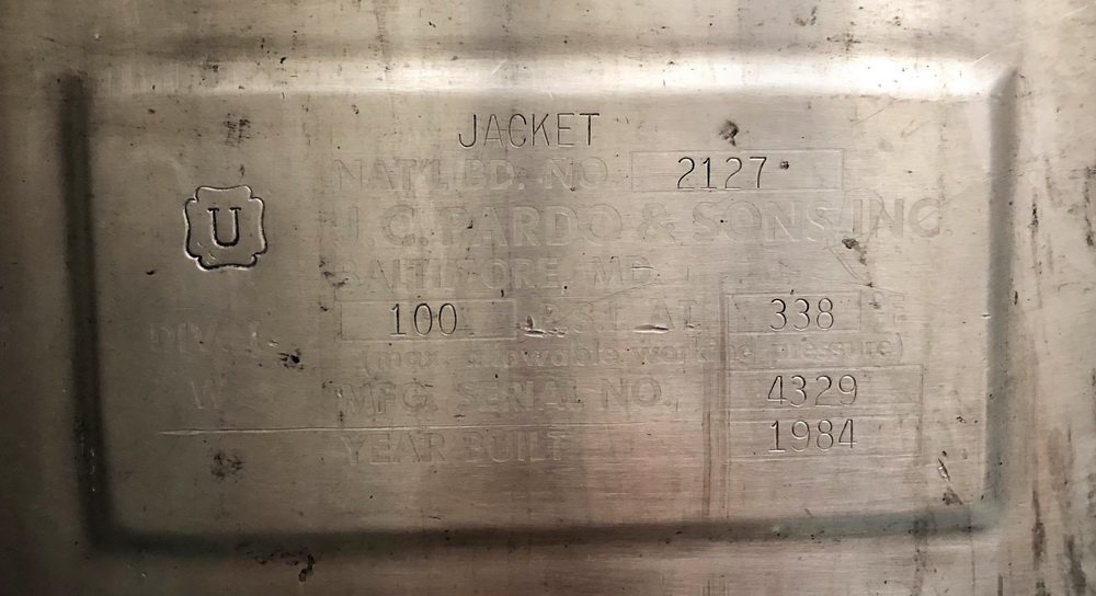 """Greerco/Gifford Wood 1,000 Liter (250 gal) 316 SS Jacketed Triple Motion """"Agi-Mix"""" Kettle/Reactor - Image 8 of 27"""