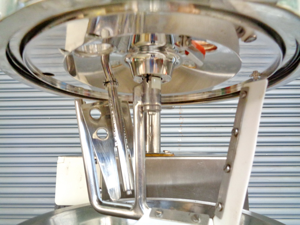 Haagen Rinau (Ekato) 1 gallon SS Vacuum/Jacketed Lab Process Mixer, Model Unimix, S/N 866-3276 - Image 2 of 10