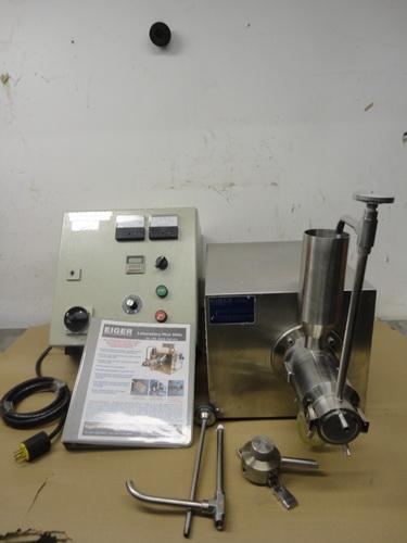 Eiger SS horizontal lab/pilot media mill, Model 250-VSE-EXP, S/N 10135 - Image 3 of 17