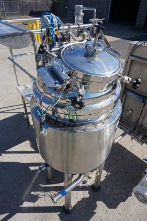 Krieger approx. 125 Liter Stainless Steel Jacketed Pressure Vessel, S/N 0503-9394 - Image 8 of 11