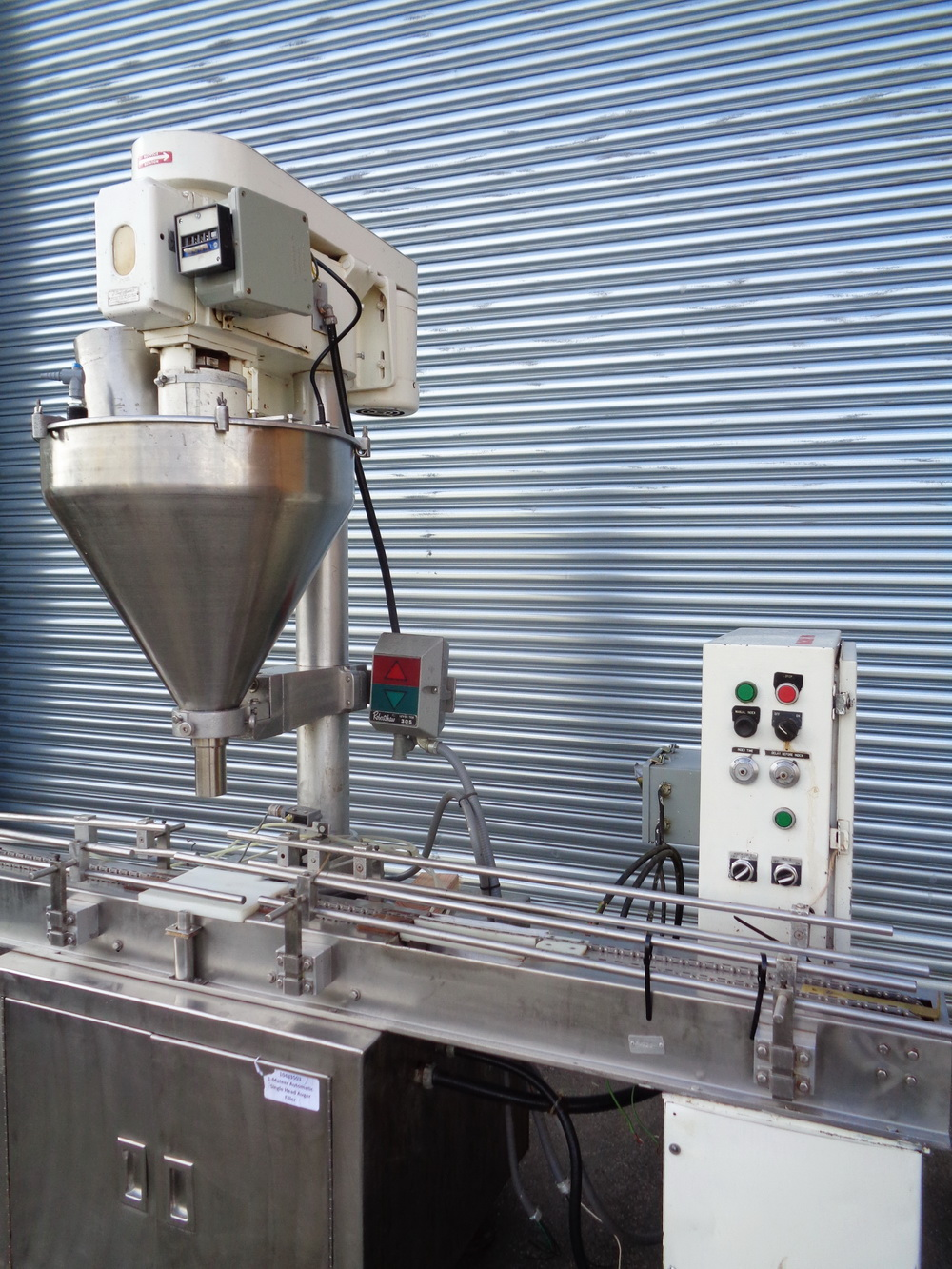 Mateer Automatic Single Head Auger Filler, Model 33-A, S/N A-467 - Image 3 of 10