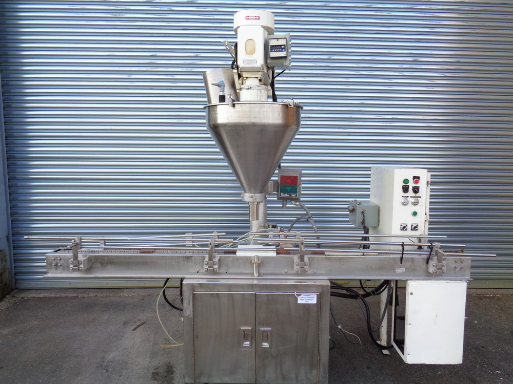 Mateer Automatic Single Head Auger Filler, Model 33-A, S/N A-467
