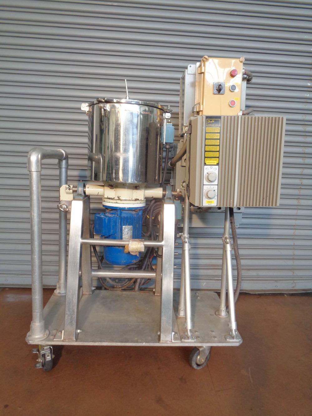 Dosapak 5 gallon Stainless Steel Vertical Powder Mill
