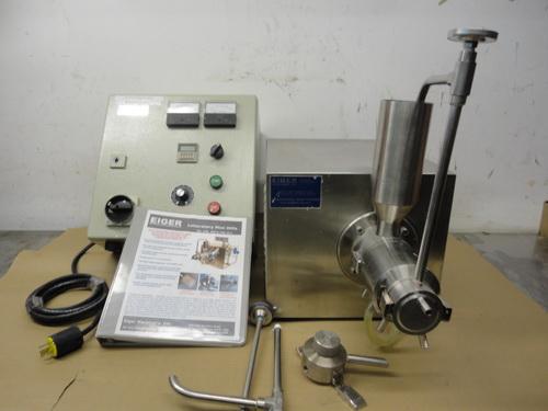 Eiger SS horizontal lab/pilot media mill, Model 250-VSE-EXP, S/N 10135 - Image 2 of 17