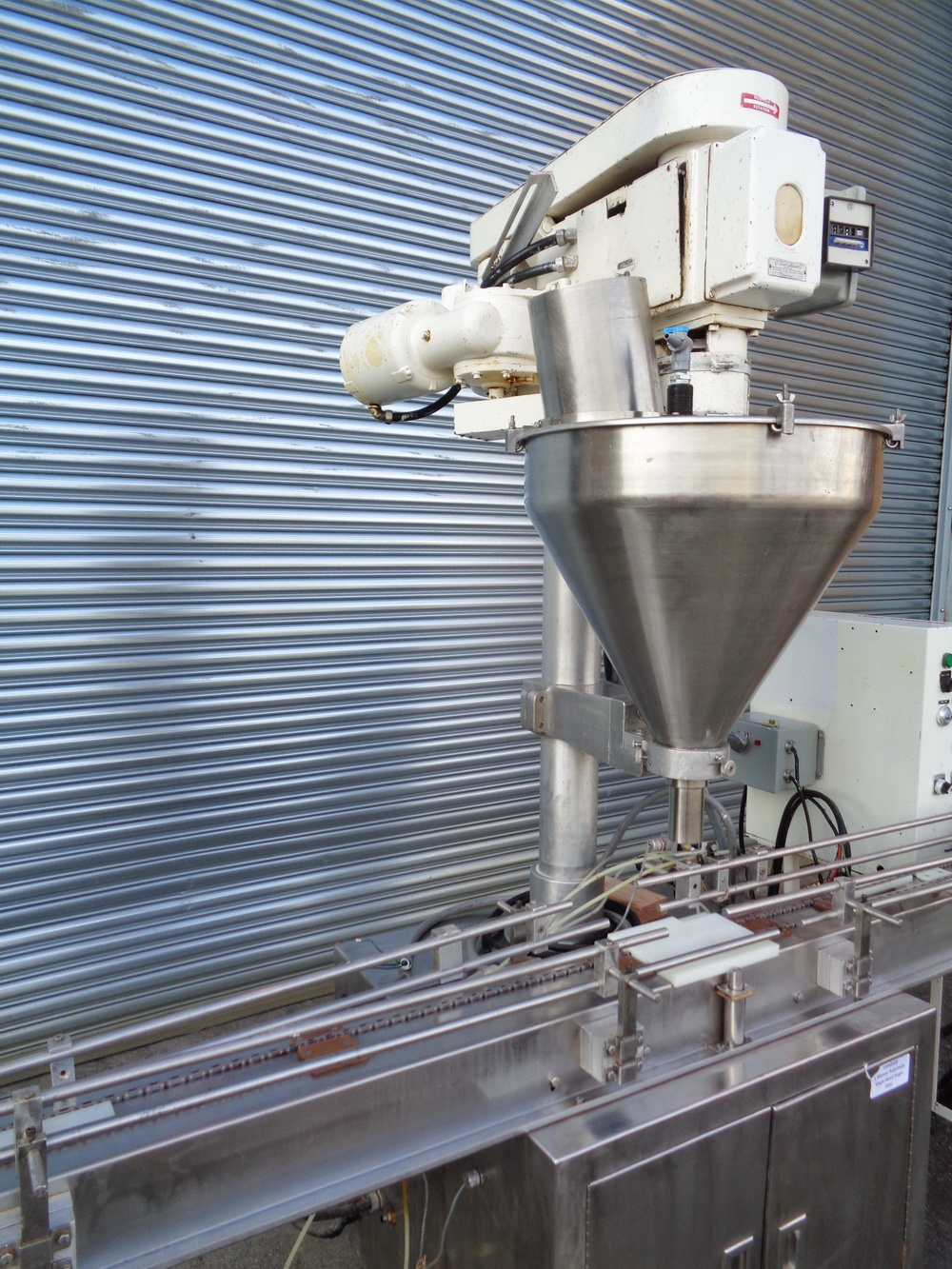 Mateer Automatic Single Head Auger Filler, Model 33-A, S/N A-467 - Image 2 of 10