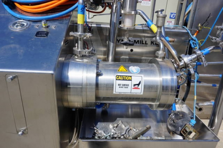 Willy Bachofen (WAB) Horizontal Dyno-Mill Type KD6 Pulverizing/Media Mill, S/N 030811 - Image 5 of 10
