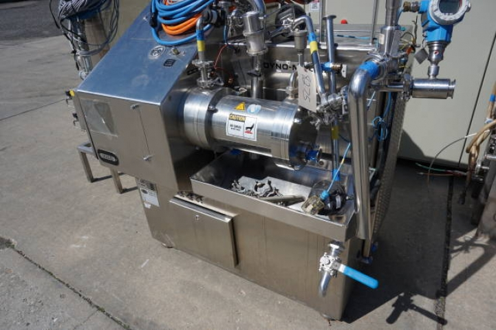 Willy Bachofen (WAB) Horizontal Dyno-Mill Type KD6 Pulverizing/Media Mill, S/N 030811 - Image 8 of 10