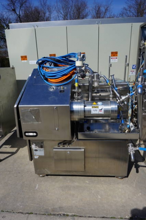 Willy Bachofen (WAB) Horizontal Dyno-Mill Type KD6 Pulverizing/Media Mill, S/N 030811 - Image 9 of 10
