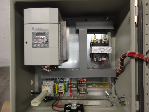 Eiger SS horizontal lab/pilot media mill, Model 250-VSE-EXP, S/N 10135 - Image 11 of 17