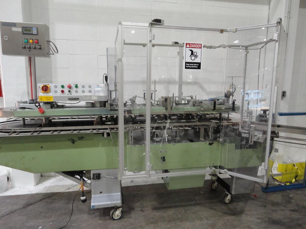 CAM Automatic Vertical Cartoner, Model C13295-AV78-22