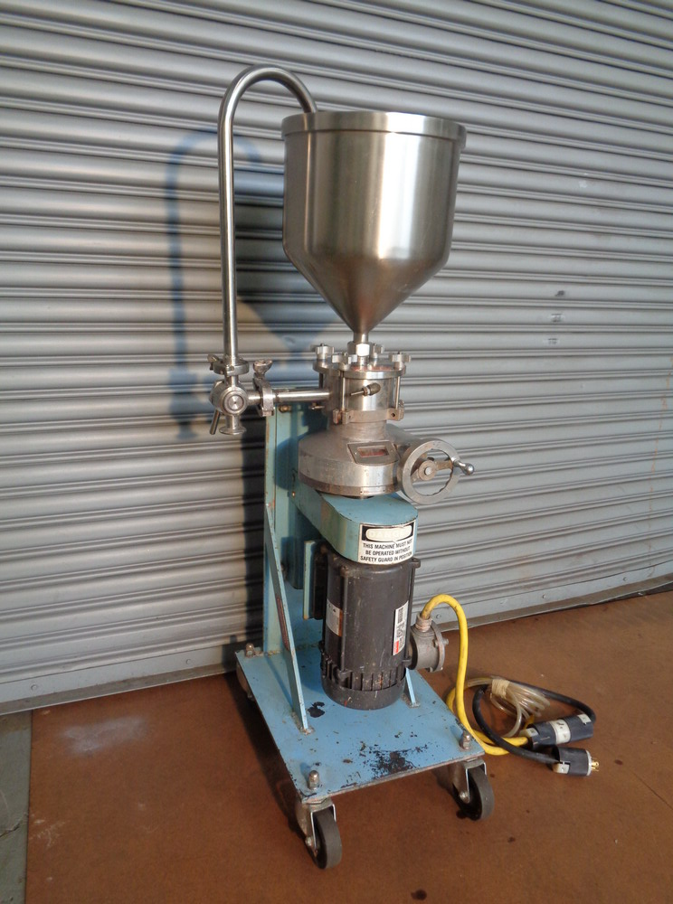 Greerco 2 HP XP SS Vertical Colloid Mill, Model W250VB, S/N 86-03392596B - Image 3 of 6