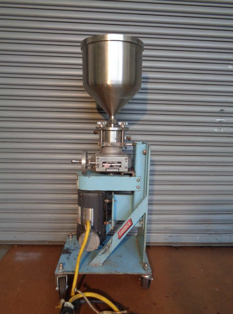 Greerco 2 HP XP SS Vertical Colloid Mill, Model W250VB, S/N 86-03392596B - Image 2 of 6