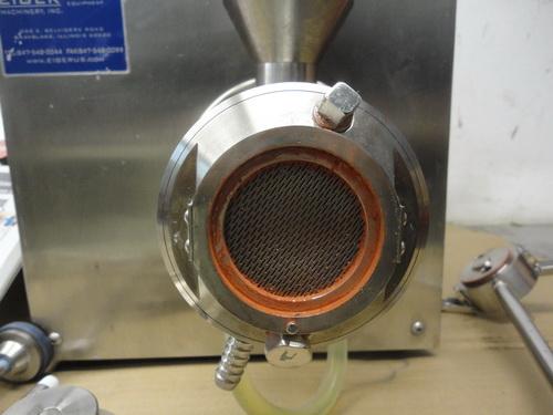Eiger SS horizontal lab/pilot media mill, Model 250-VSE-EXP, S/N 10135 - Image 7 of 17