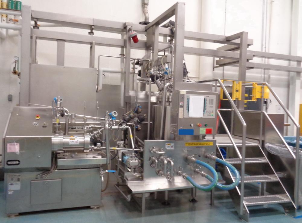 Willy Bachofen (WAB) Horizontal Dyno-Mill Type KD6 Pulverizing/Media Mill, S/N 030811