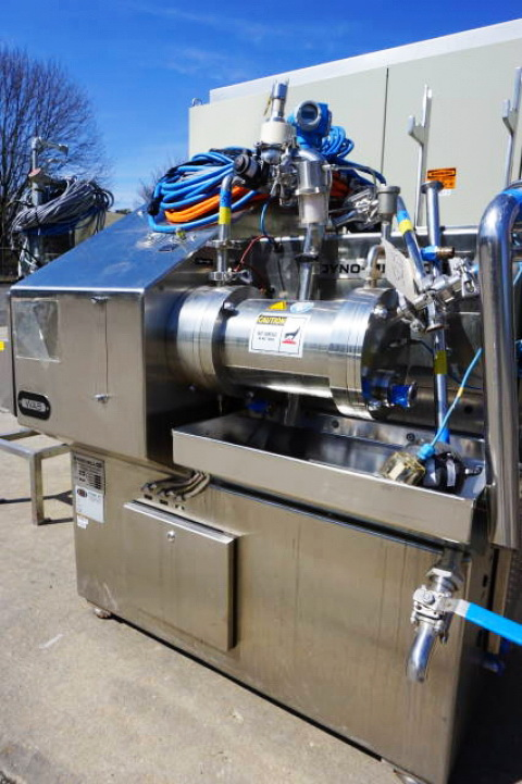 Willy Bachofen (WAB) Horizontal Dyno-Mill Type KD6 Pulverizing/Media Mill, S/N 030811 - Image 3 of 10