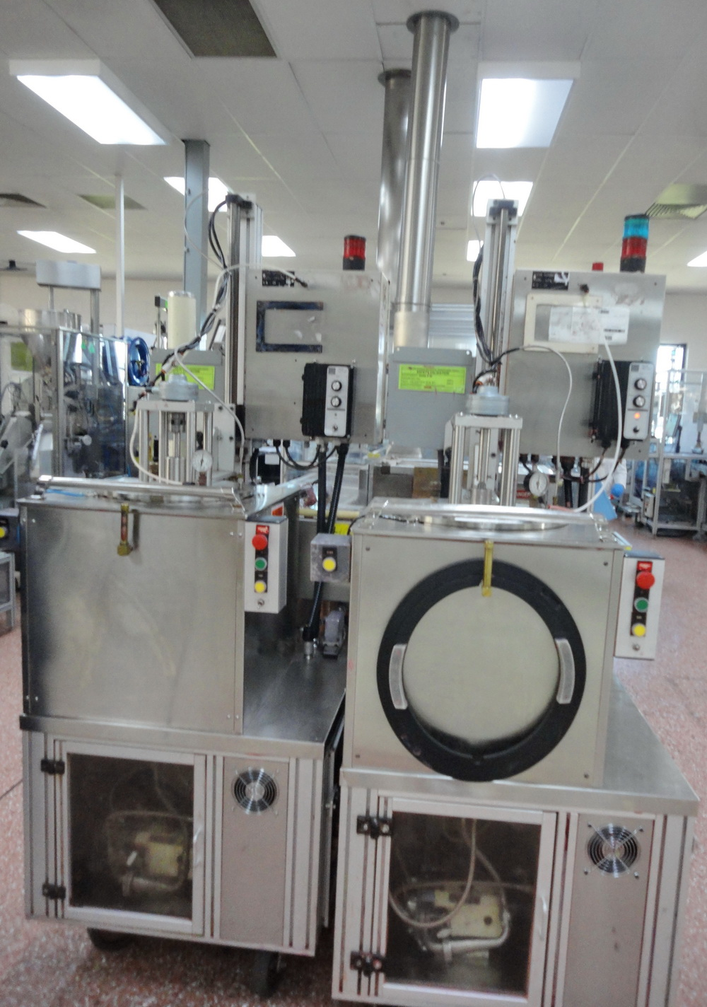 """""""Cavalla type"""" (Cherry Burrell) Electrically heated, portable, jacketed, mixing and filling Kettle"""