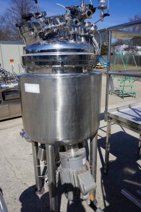 Krieger approx. 125 Liter Stainless Steel Jacketed Pressure Vessel, S/N 0503-9394 - Image 4 of 11