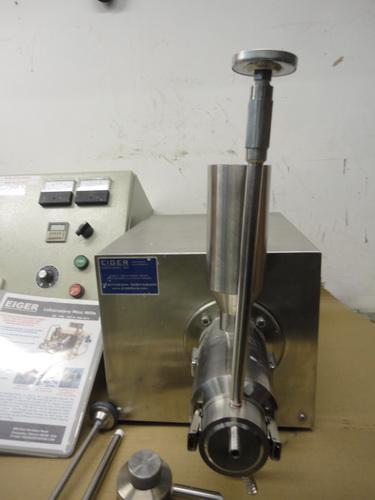 Eiger SS horizontal lab/pilot media mill, Model 250-VSE-EXP, S/N 10135 - Image 4 of 17