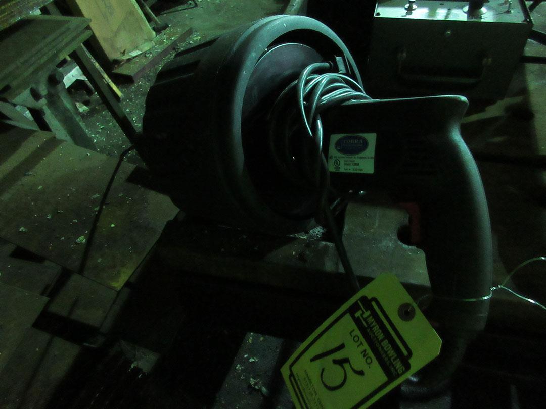 Lot 15 - COBRA LX250 DRAIN CLEANER