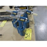 """LOT OF HYDRAULIC AIR RIVETERS (3), CENTRAL PNEUMATIC 3/16""""  (new)"""